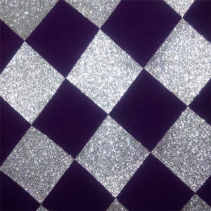 Flocking Glitter Wallpaper for KTV Decoration Material