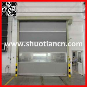 Roll up Shutter High Speed Fabric Door (ST-001) pictures & photos