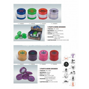Colorful Manual Grinder/Cutter for Tobacco