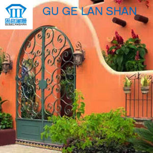 High Quality Crafted Wrought Iron Gate 003 pictures & photos