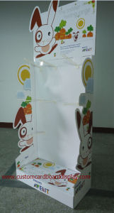 Green UV Coating Cardboard Display Stand, Cardboard Retail Display for Supermarket pictures & photos