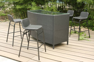 Water Proof Designer Outdoor Furniture Garden Patio Rattan Bar Stool pictures & photos