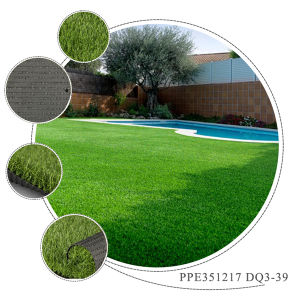 2015 New Design Plastic Natural Green Garden Carpet Lawn pictures & photos