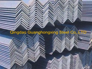 Q235B Q345 Equal/ Unequal Hot Rolled Steel Angle pictures & photos