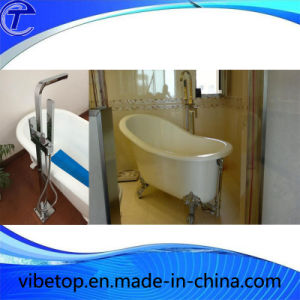 Freestanding Bathroom Upc Bathtub Faucet with Brass Hand Sprayer pictures & photos