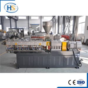 Haisi Mini Plastic PVC Pellet Recycling Lab Tse-30 Extruder Machinery pictures & photos