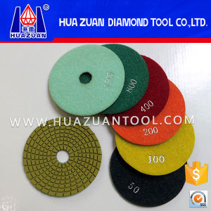 4 Inch Quartz Wet Polishing Pads pictures & photos
