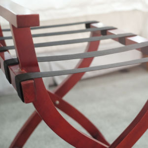 Wooden Luggage Rack with Five Belts (CJ-27A) pictures & photos