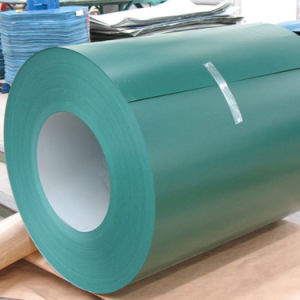 Best Price Color Coated Steel Coil of Green Ral pictures & photos