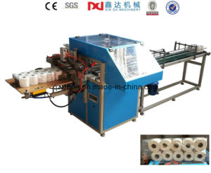 Semi-Automatic Toilet Paper Multi Roll Plastic Packing Machine pictures & photos