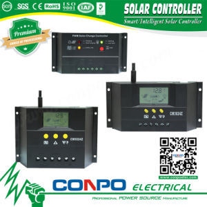 Cm-10A~80A, 12V/24V or 48V, LED/LCD, PWM Solar Controller pictures & photos