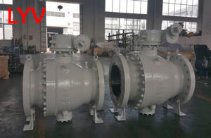 Stainless Steel Trunion Fixed Ball Valve