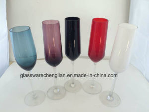 Various Colors of Champagne Glass pictures & photos