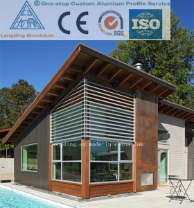 Aluminium Window Shutters Can Be Used in Vacation House pictures & photos