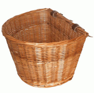 Universal Large/Medium Wicker/Willow Basket for Classic Electric Bike/E Bike/Bicycle/Pedelec pictures & photos