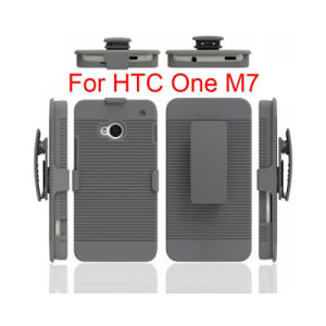 Hybrid PC Belt Clip Holster Combo TPU Cover Case