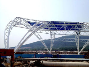 Steel Fabrication Tube Truss Structure From Professional Steel Structure Manufacturer pictures & photos