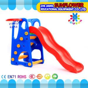 Indoor Playground Happy Slide Children Toys Kindergarten Soft Plastic Slide Playground (XYH12066-3)