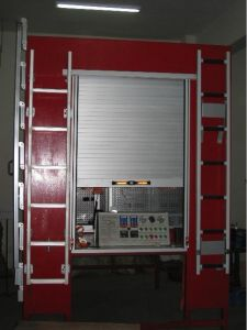 Truck Aluminium Rolling Shutter Door pictures & photos