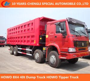 HOWO 8X4 40tons Dumptipper Truck pictures & photos