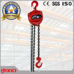 1.5 Ton Track Power Trolley Type Electric Chain Hoist pictures & photos