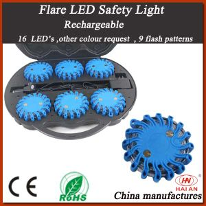 Rechargeable Flare LED Safety Light pictures & photos