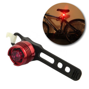 Outsports Red LED Bike Rear Light 3 Modes Waterproof Bicycle Tail Lamp pictures & photos