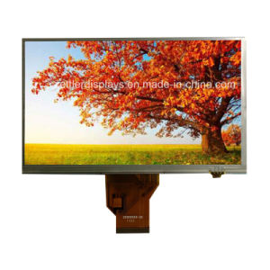 "7"" TFT Display, WVGA 800X480, with Resistive Touch Panel: ATM0700d6b-T pictures & photos"