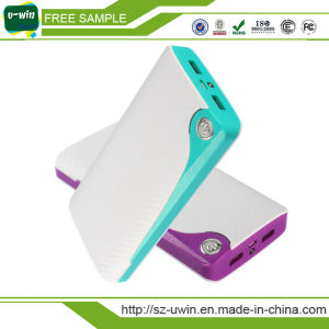 Dual USB Smart Portable Power Bank 20000mAh pictures & photos