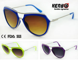 New Coming Fashion Sunglasses with Metal Temple for Accessory, CE FDA Kp50731 pictures & photos