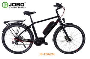 Moped Electric Bike Brushless MID Motor E-Bicycle (JB-TDA26L) pictures & photos