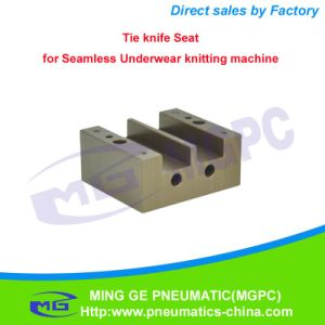 Textile Knitting Machine Parts Tie Knife Seat