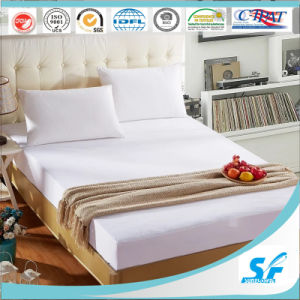 Waterproof PU Terry Mattress Protector/Polyester Mattress Cover pictures & photos