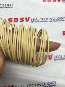 Beige Color Molded Polyurethane PU90 Seal O Rings pictures & photos