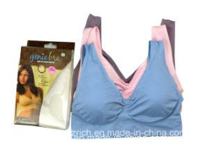 Genie Bra with Pad/Genie Bra / Spaort Bra/ Yoga Bra pictures & photos