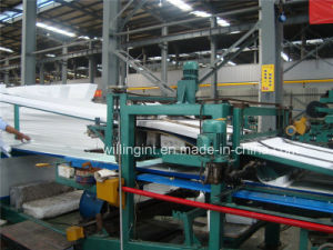 Hot China Polyurethane Sandwich Panel Production Line with Ce pictures & photos