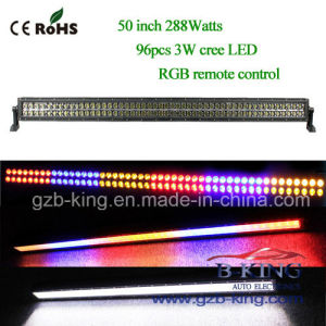 2015 New 50 Inch 288W RGB CREE LED Bar Light pictures & photos