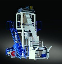 Sj-45 Two-Layer Rotary Die Head LLDPE Blowing Machinery pictures & photos