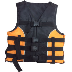 Good Nylon and EPE Foam Life Jacket (HX-V0033) pictures & photos