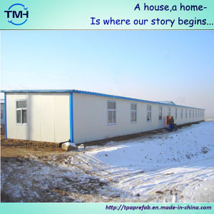 Flat Roof Small Prefabricated House in South Africa pictures & photos