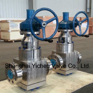API 602 Forged Steel Alloy Steel Flanged Gate Valve pictures & photos