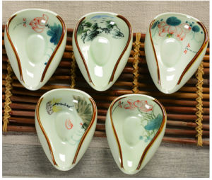 Showing-Tea Holder (Porcelain Or Clay Material)