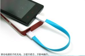 Magnet Cellphone Data and Charge Cable with Micro USB Port pictures & photos