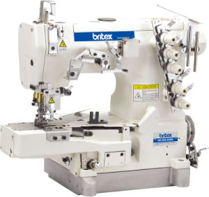 Br-600-02bb High Speed Cylinder-Bed Interlock Sewing Machine with Tape Bilding (edge rolling) pictures & photos