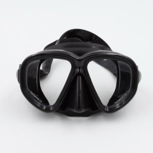 Adult Silicone Competitive Custom Logo Design Tempered Glass Diving Mask (MK-501) pictures & photos