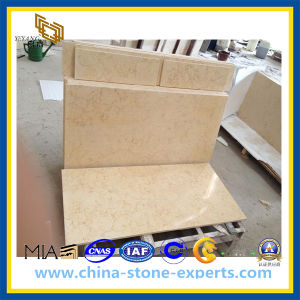 Cream Rosebeige Marble Tile for Flooring / Wall Cladding (YQZ-MT1014) pictures & photos