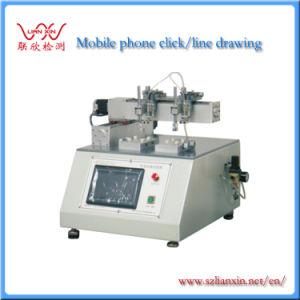 Hot Product Tester Mobile Phone Click Lineation Testing Machine Lx-8650b