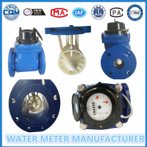 Dn100 Multi Jet Flange Pulse Water Meter, Iron Material, Cold Water Meter pictures & photos