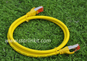 Snagless Booted Shielded STP RJ45 CAT6 Ethernet Patch Cord Cable pictures & photos