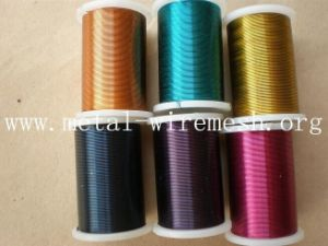 Top Quality Painted Silk Wire and Rosette Coil Wire pictures & photos